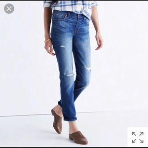 Madewell Slim Boyfriend Jean